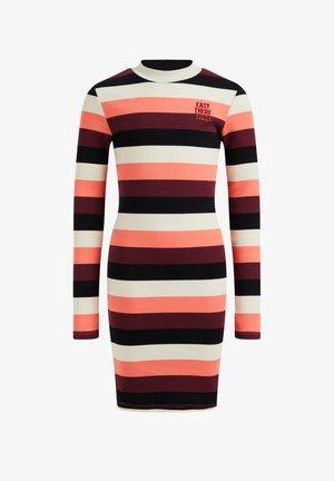 MET GESTREEPTDESSIN - Jumper dress - multicoloured