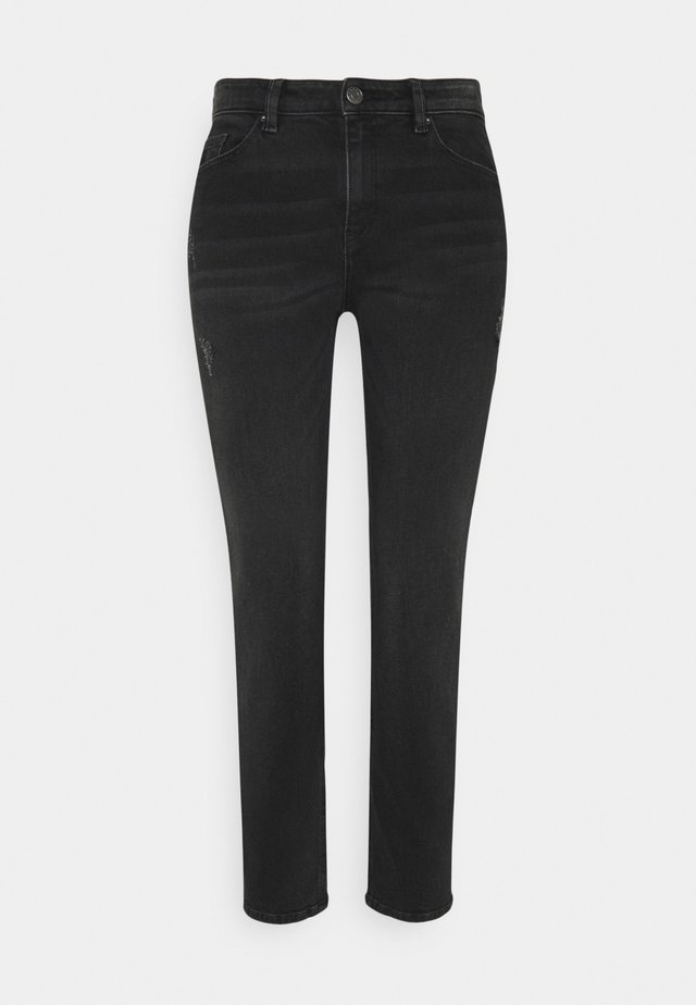 Jeans a sigaretta - black dark wash
