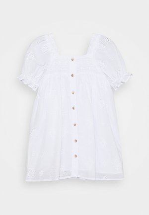 LUCINDA SHORT SLEEVE DRESS - Cocktail dress / Party dress - white