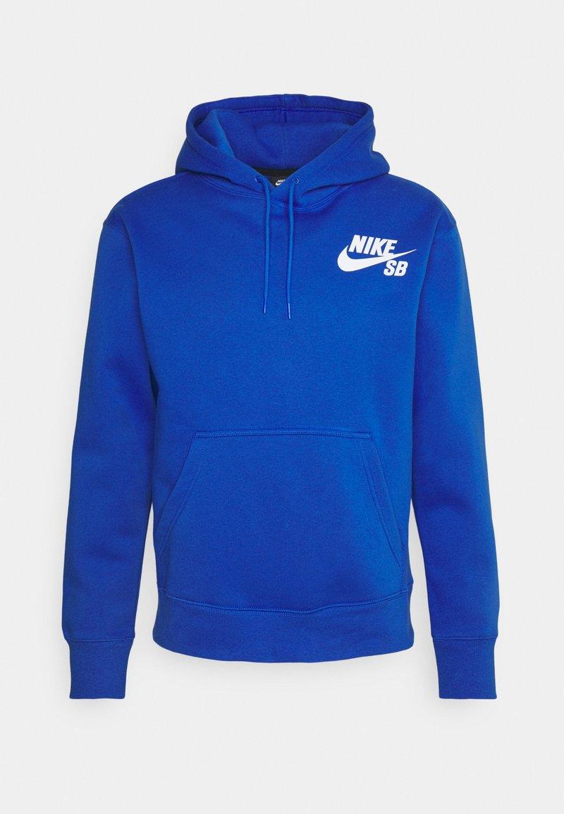 Nike SB - ICON HOODIE UNISEX - Hoodie - game royal/white