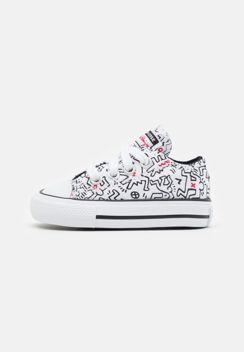 Converse - CHUCK TAYLOR ALL STAR UNISEX - Sneakers laag - white/black/red