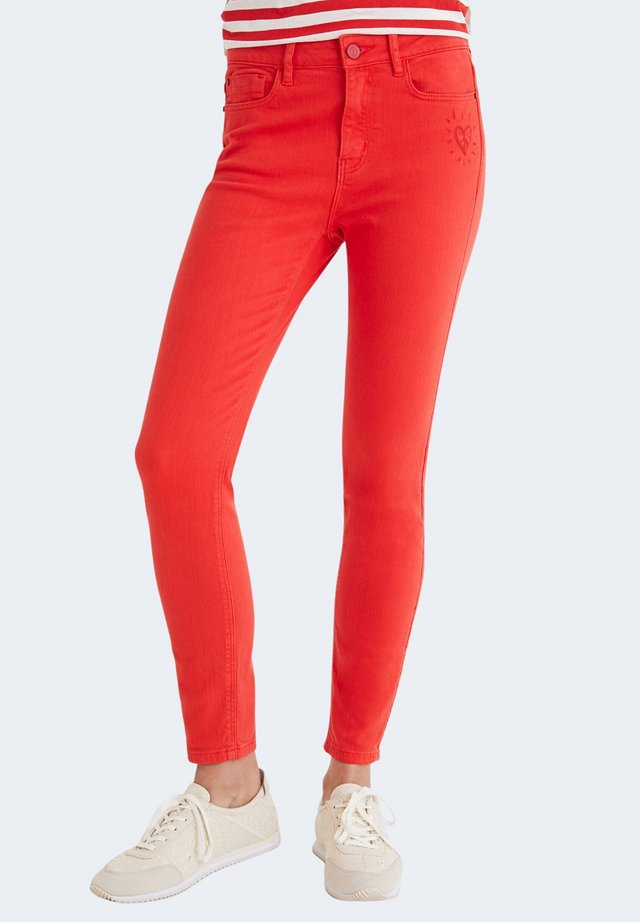 Jeans Skinny Fit - coral