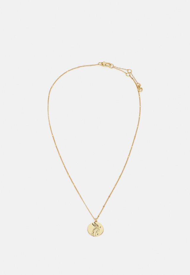 CAPRICORN PENDANT - Collana - gold-coloured