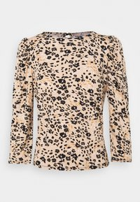 Dorothy Perkins Petite - BILLIE AND BLOSSOM FLORAL PUFF SLEEVE - Blouse - camel - 0