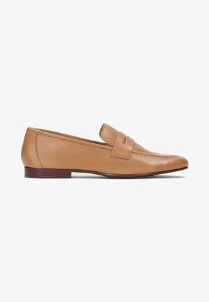 GIANNI - Mocasines - light brown