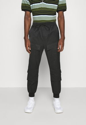 UTILITY PANTS - Cargobroek - black
