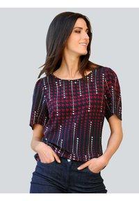 Alba Moda - Print T-shirt - marineblau,rot,weiß - 0