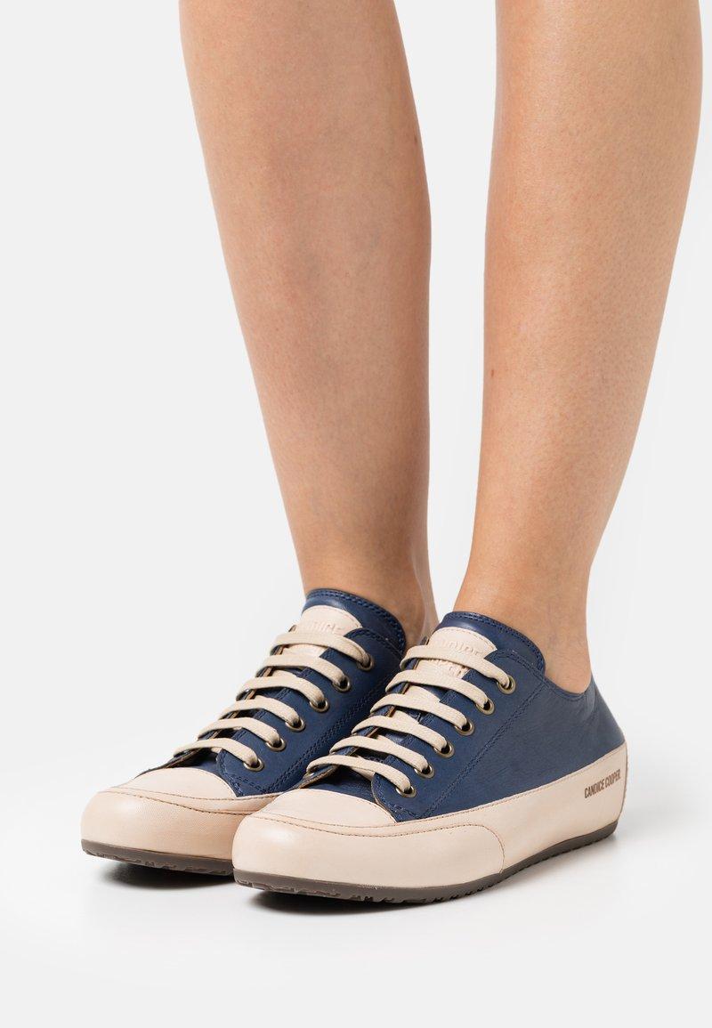 Candice Cooper - ROCK - Sneakers laag - tamponato navy/tamponato sabbia