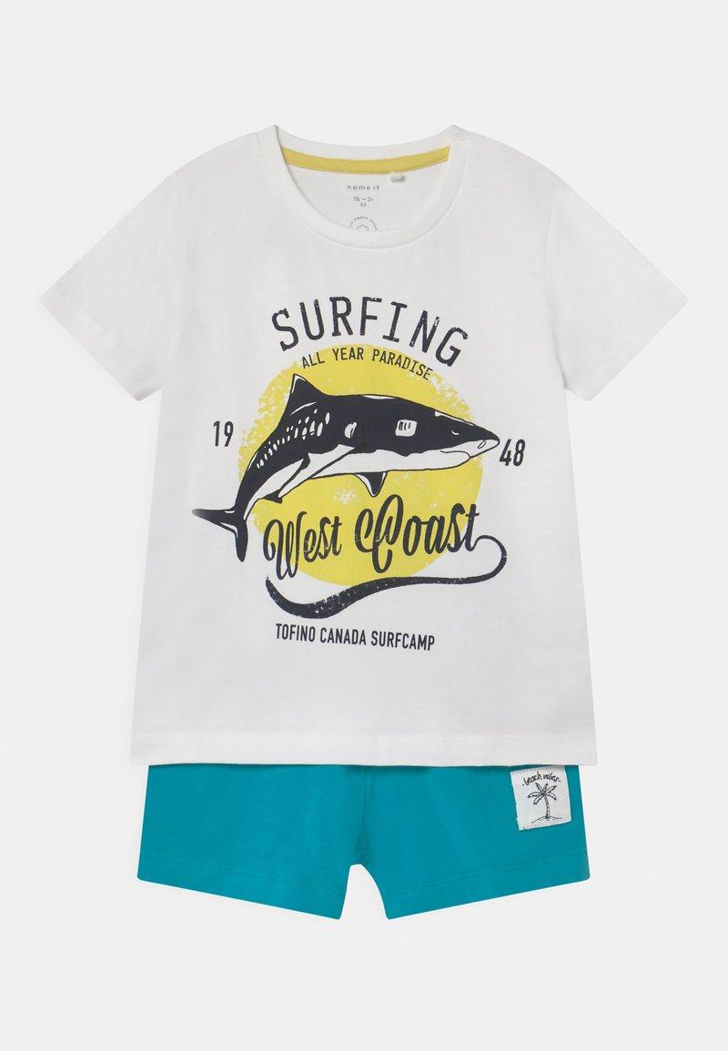Name it - NMMZHARKON SET - T-shirt print - bright white