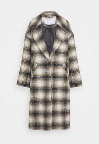 JAYDEN COAT - Classic coat - black/beige