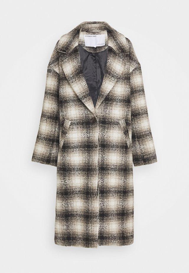 JAYDEN COAT - Manteau classique - black/beige