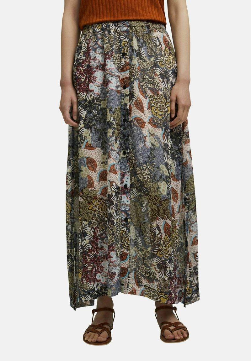 Esprit - Maxi skirt - turquoise