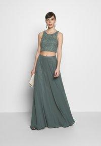 Mascara - SET - Maxi skirt - smokey green - 1
