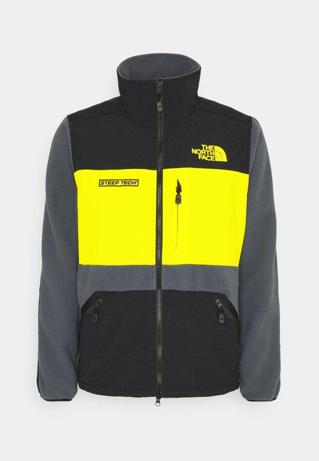 STEEP TECH FULL ZIP UNISEX - Veste polaire - vanadis grey/black/lightning yellow