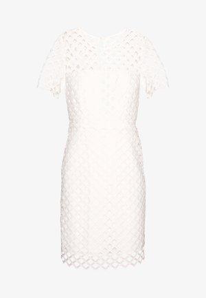 ANGELA DRESS - Vestido de tubo - white