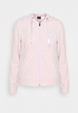 CECILIA HOODIE - Sudadera con cremallera - light pink