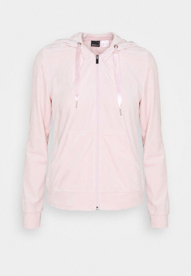 CECILIA HOODIE - Sweatjakke /Træningstrøjer - light pink