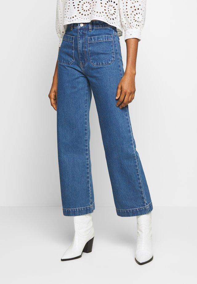 SAILOR JEAN - Flared Jeans - ashley blue