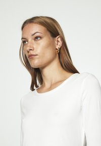 Lindex - VIRA - Basic T-shirt - off white - 4
