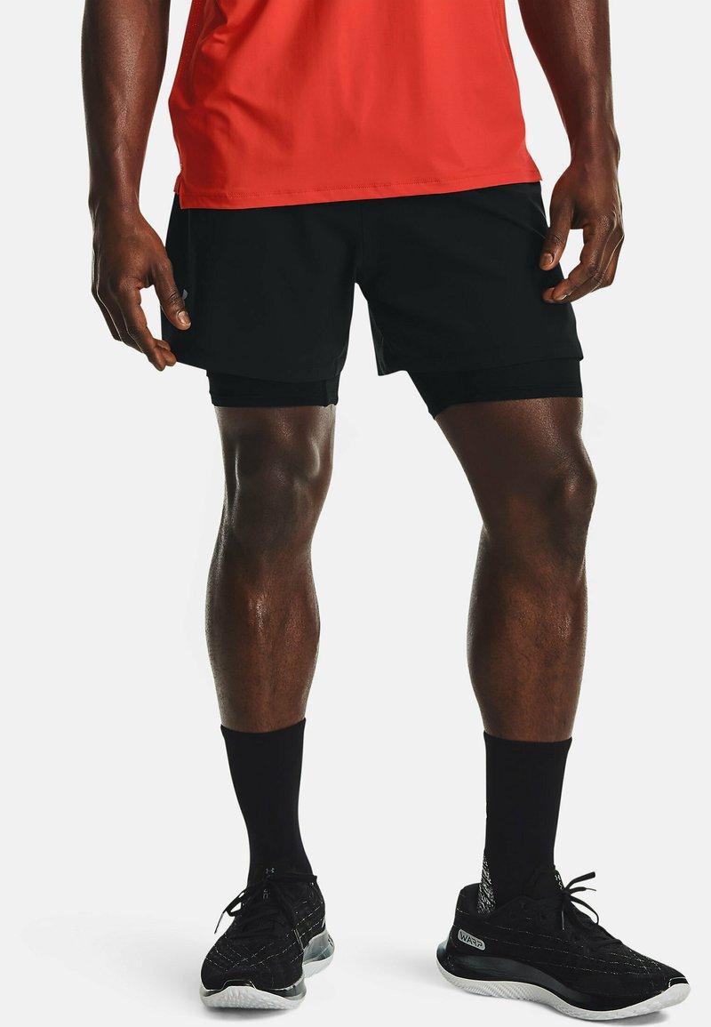 Under Armour - Sports shorts - black