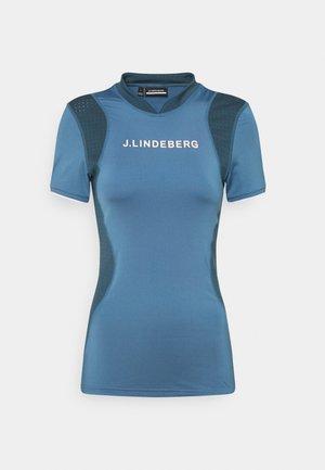 KENZIE GOLF - T-shirt con stampa - captains blue