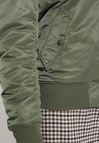 Alpha Industries - Bomber Jacket - sage green - 6