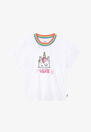 GR X FLOUR SHOP CARA - Print T-shirt - (flour shop) white