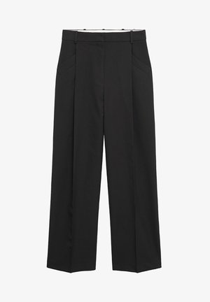 HUGO - Spodnie materiałowe - noir