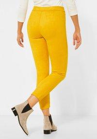 Street One - Leggings - Trousers - gelb - 1