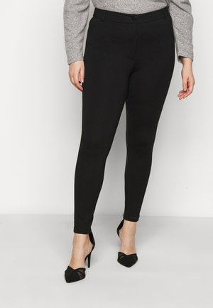 SUSTAINABLE TREGGING PONTE TROUSER - Leggings - black