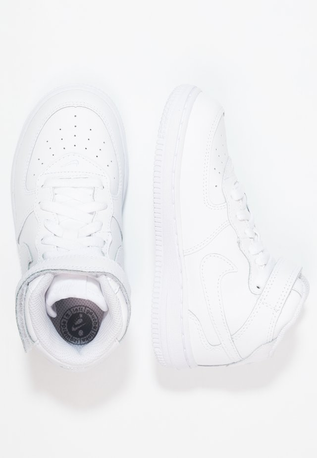 NIKE FORCE 1 MID (TD) - High-top trainers - white