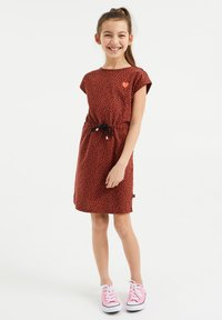 WE Fashion - Day dress - rust brown - 2