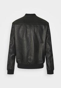 HUGO - LIVIUS - Leather jacket - black - 7