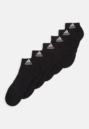 CUSH ANK UNISEX 6 PACK - Sports socks - black