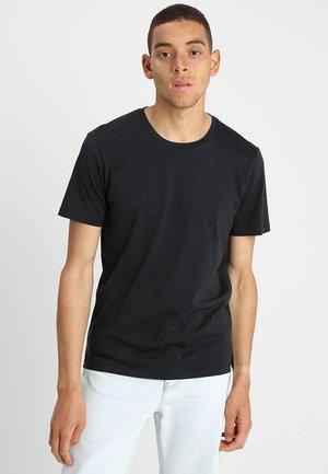 LUKA - Basic T-shirt - black