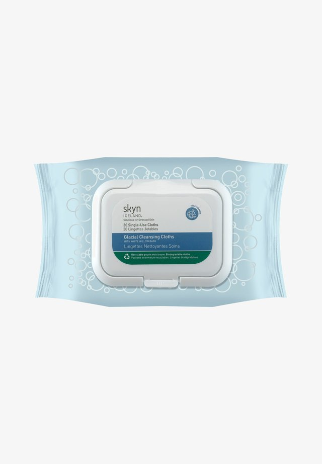 SKYN ICELAND GLACIAL CLEANSING CLOTHS - Cleanser - -