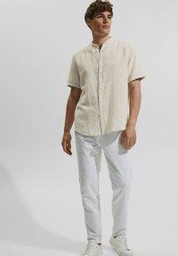 Esprit - MELANGE - Shirt - light beige - 1