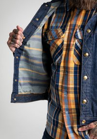 Lee - TECHNICAL RIDER - Denim jacket - grey - 5
