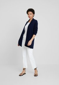 Benetton - OPEN CARDIGAN - Kardigan - dark blue - 1