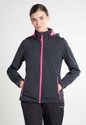 BOISE - Soft shell jacket - grau