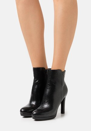 VEGAN ROXANA - Bottines à talons hauts - black