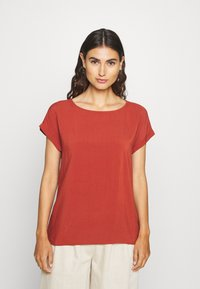TOM TAILOR DENIM - WITH BACK DETAIL - Blouse - rust orange - 0