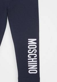 MOSCHINO - Leggings - Trousers - blue navy - 2