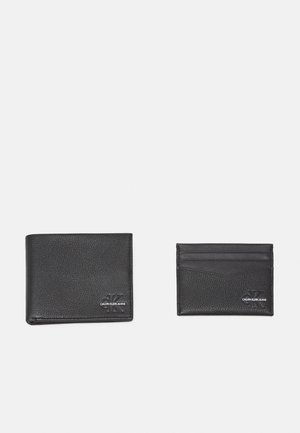 BILLFOLD COIN CARDCASE SET - Portafoglio - black