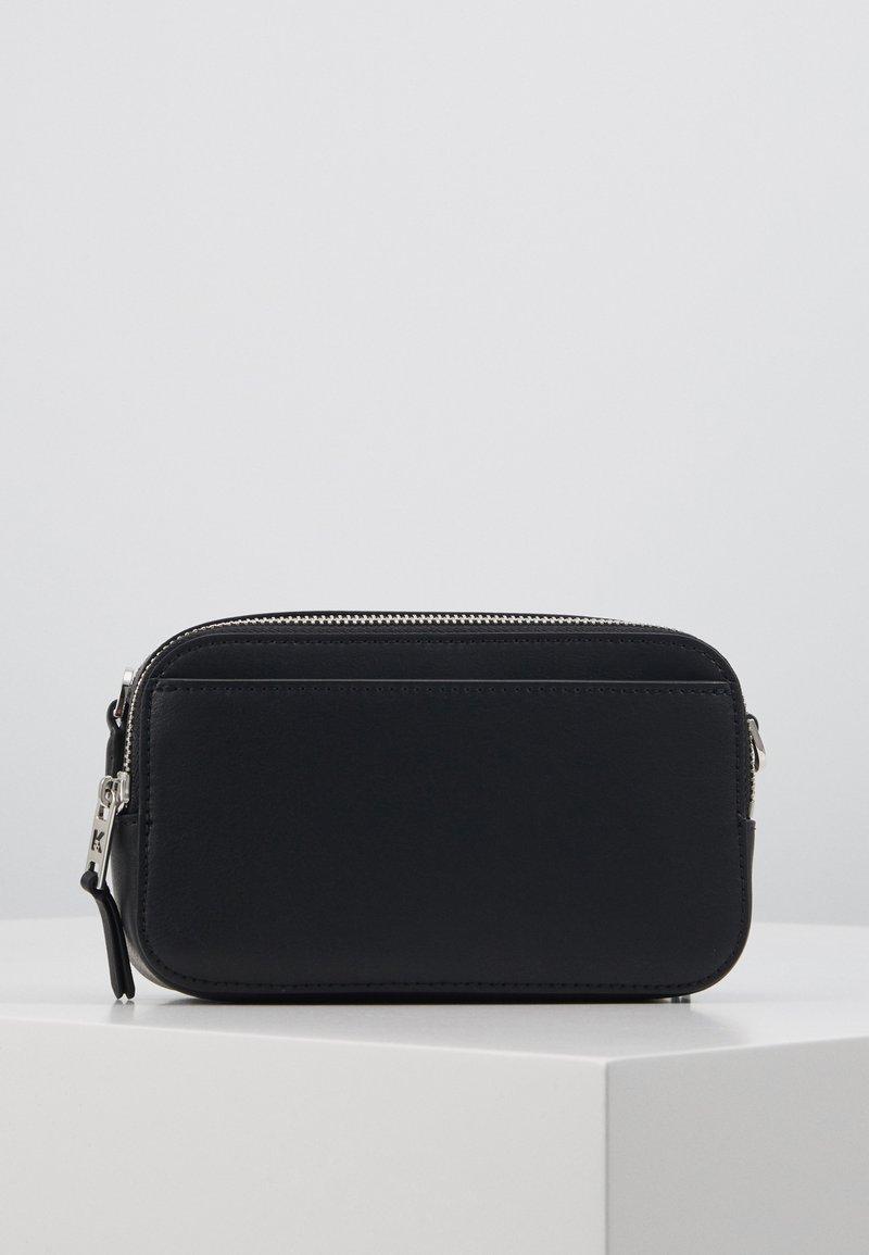 KARL LAGERFELD - IKONIK PIN CAMERA BAG - Across body bag - black
