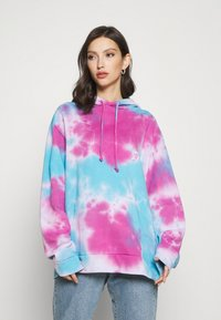 Jaded London - TIE DYE PRINT HOODIE - Hoodie - multi - 0