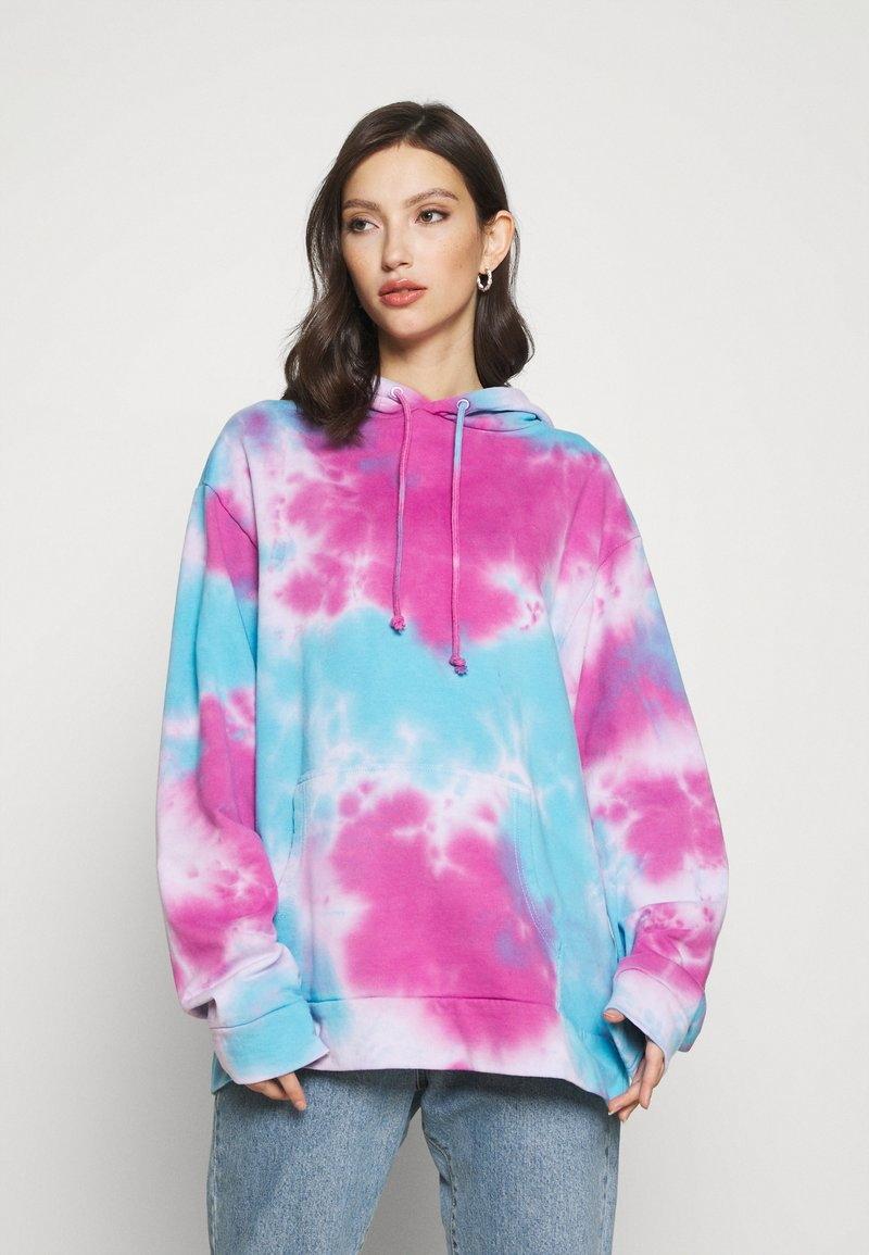 Jaded London - TIE DYE PRINT HOODIE - Hoodie - multi