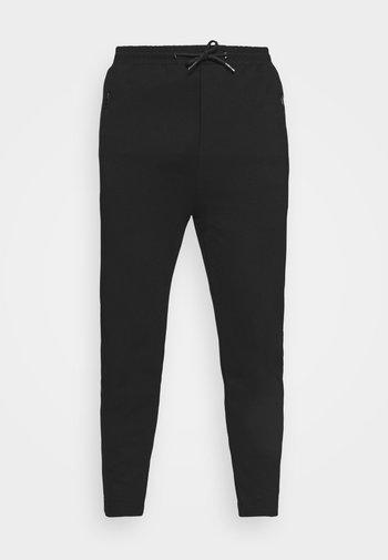 PONTE ELASTIC PANTS CROPPED - Kangashousut - black