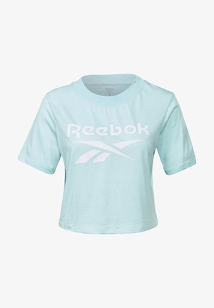 ELEMENTS REECYCLED WORKOUT - T-Shirt print - blue
