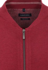 CASAMODA - Zip-up sweatshirt - dark red - 2